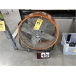 "Lot 45 - MAX PRO 24"" SHOP FAN"