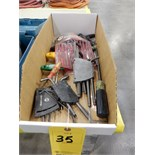 Lot 35 - ALLEN WRENCHES & ASSORT HAND FILES