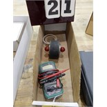 Lot 21 - ADHESION WET TAPE TEST ROLLER & AMP METER