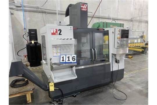 HAAS CNC VERTICAL MACHINING CENTER MDL VF-2, 20 TOOL TOOL CHANGER