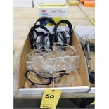 Lot 50 - HEARING PROTECTION & SAFETY GLASSES