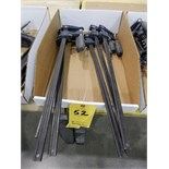 Lot 52 - QUICK CLAMPS 6 PCS 18""