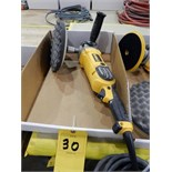 "Lot 30 - DEWALT 8"" E;ECTRIC POLISHER/ BUFFER"