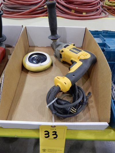 "Lot 33 - DEWALT 1/2"" ELECTRIC DRILL"