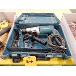 Lot 34 - MAKITA ELECTRIC HAMMER DRILL #HP2050
