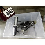 Lot 46 - PNEUMATIC CAULK GUN W/ 2 GREASE GUNS
