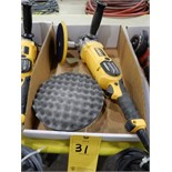 "Lot 31 - DEWALT 8"" E;ECTRIC POLISHER/ BUFFER"