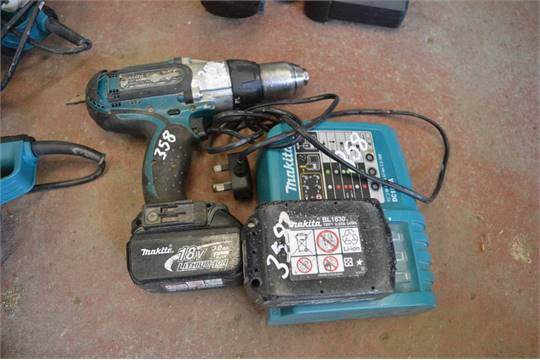 makita battery charger instructions