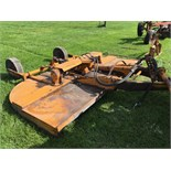 Lot 4 - Sidewinder PG210 10' rotary mower, pull type, land wheels.