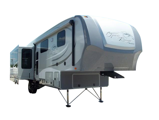 Lot 11 - 2014 Open Range Roamer 357 RES 5th Wheel Camper