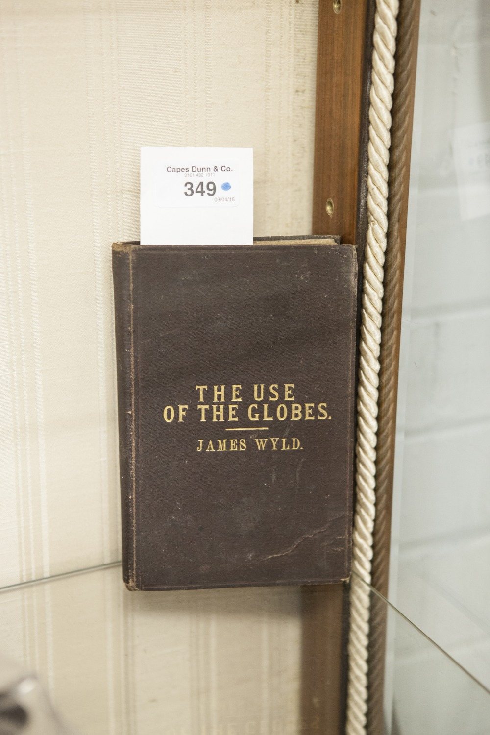 Lot 349 - JAMES WYLD, A FAMILIAR AND PRACTICAL TREATISE ON THE USE OF THE GLOBES. Terrestrial and Celestial