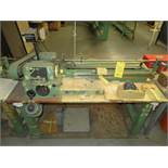 AMICOIL COIL WINDING MACHINE W/BENCH