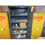 SUPPLY CABINET W/CONTENTS