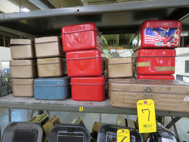 ASSORTED TOOLBOXES