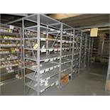 """(15) SECTIONS OF 36"""" X 24"""" X 88"""" STEEL SHELVES"""