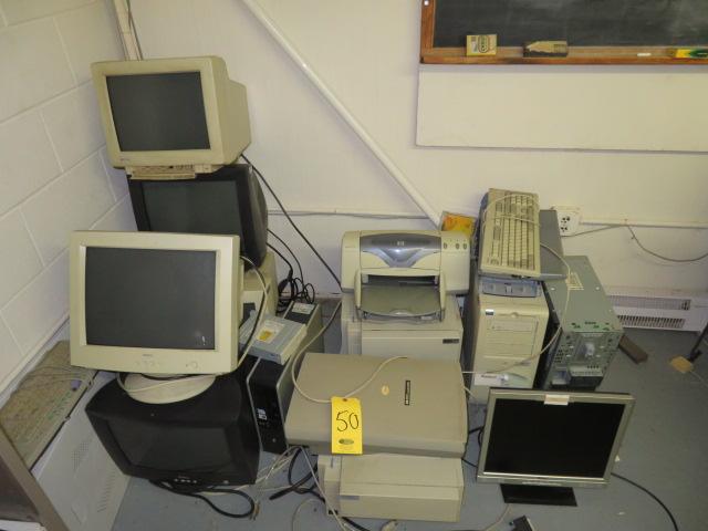 ASSORTED COMPUTER EQUIPMENT