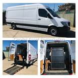 """ON SALE MERCEDES SPRINTER 313CDI """"LWB HIGH ROOF"""" WITH ELECTRIC INTERNAL TAIL-LIFT/RAMP - 16 REG -"""