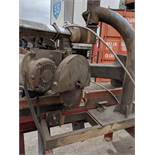 MFG UNKNOWN SWING RADIAL ARM COLD CUT SAW, S/N N/A [RIGGING FEE FOR LOT #34 - $25 CAD + APPLICABLE