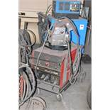 LINCOLN IDEALARC CV-305 PORTABLE DIGITAL MIG WELDER WITH CABLES AND GUN, S/N N/A [RIGGING FEE FOR