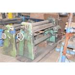 """LUNA 8266 15/45 POWERED ROLLS WITH 60.63"""" X .177"""" CAPACITY, NOT IN SERVICE, S/N 3169 [RIGGING FEE"""