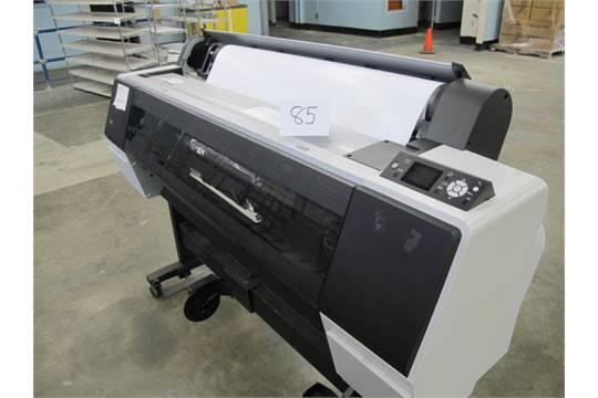 2011 Epson Stylus Pro 9900 Wide Format Printer Model K162A s/n
