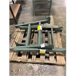 Pallet of (3) Extra Conveyor Line Adjustable Leg Attachments