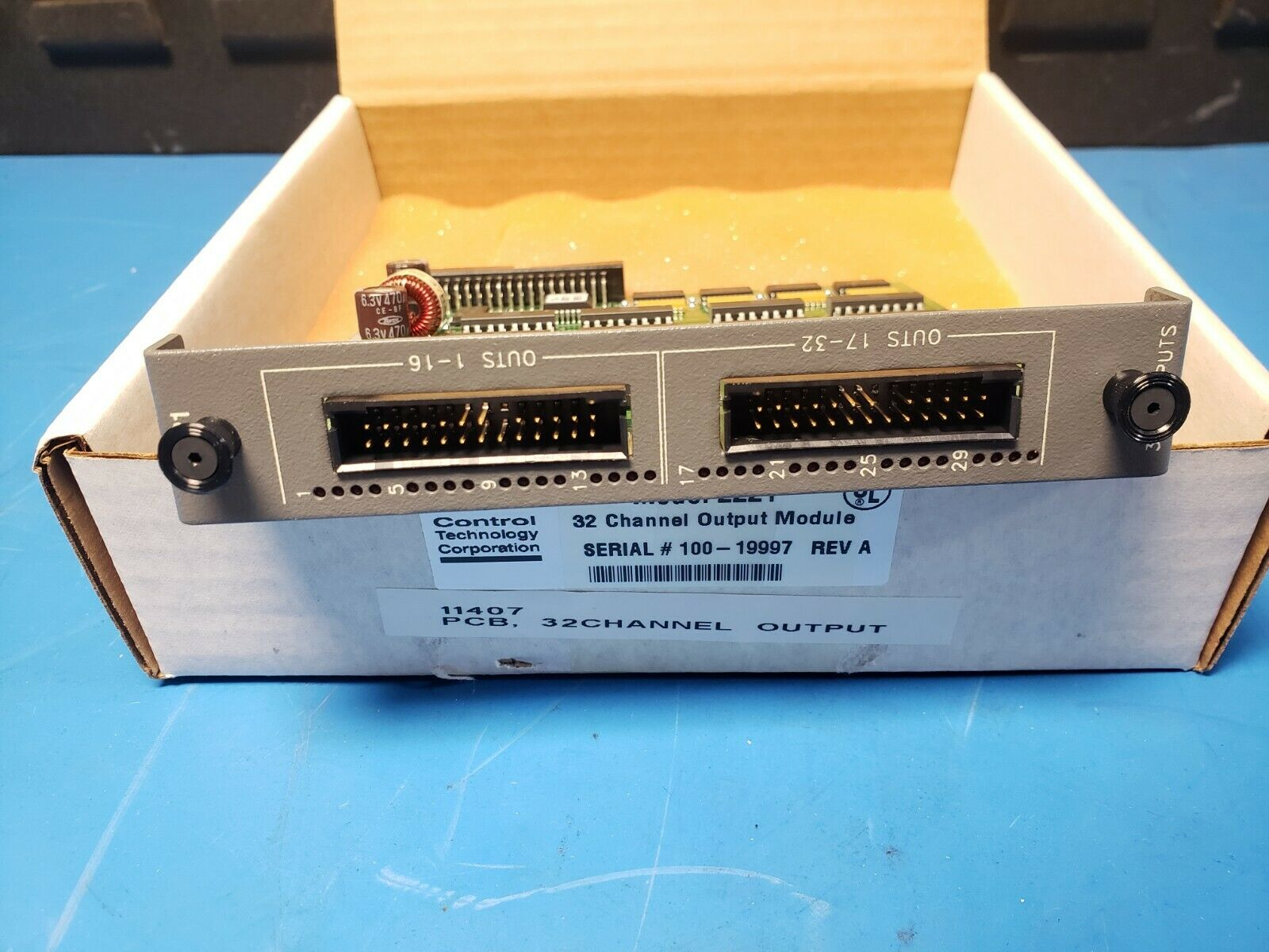 NEW CONTROL TECHNOLOGY PLC MODULE - Image 3 of 3