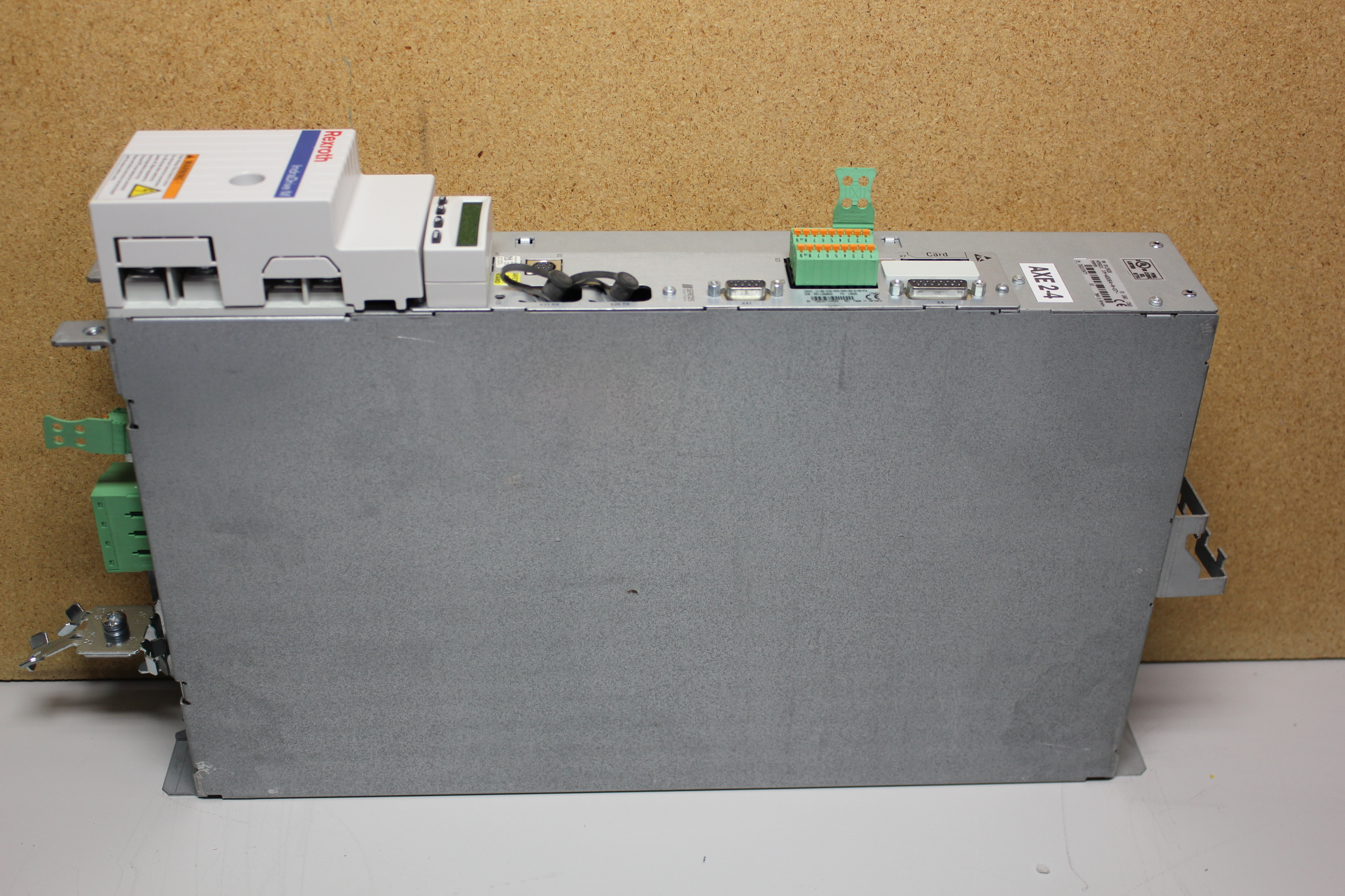 REXROTH INDRADRIVE M SINGLE AXIS INVERTER WITH SERCOS MODULE