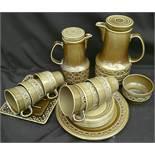 Vintage Beswick Coffee Service Zorba Pattern 18 Items in Total