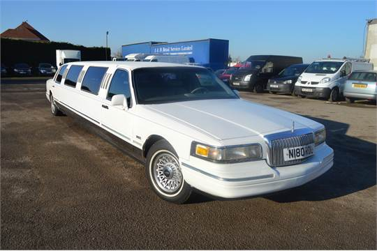 1996 Lincoln Town Car Limousine Registered In Uk 2002 No Vat