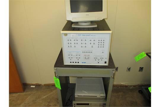 Steel Cart W Dell Trinitron Monitor Kay Dsp Sona Graph M 5510
