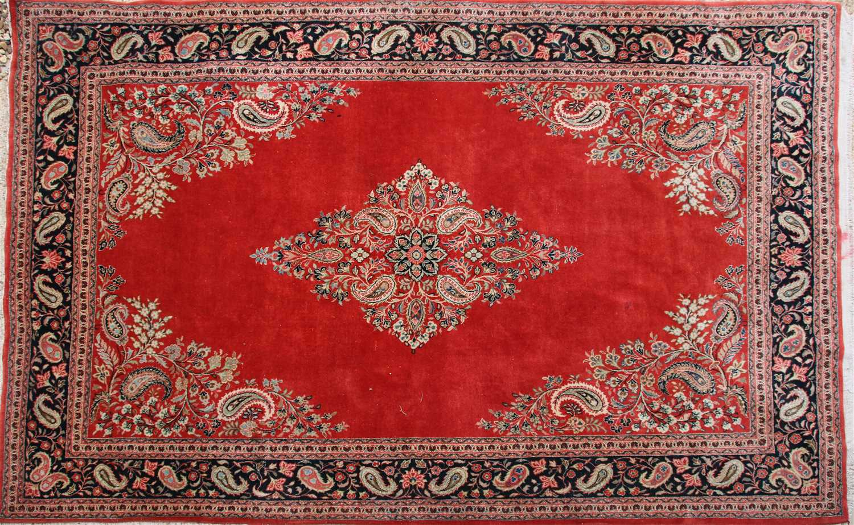 Lot 667 - An Eastern rug,