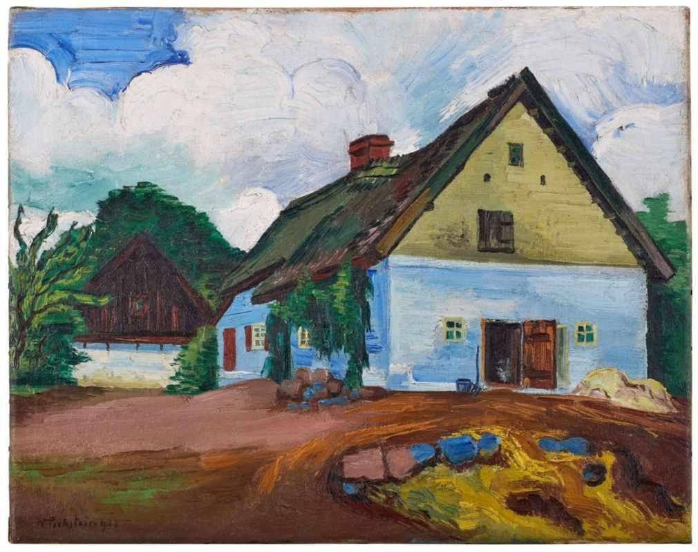 Gemälde Hermann Max Pechstein1881 Zwickau - 1955 Berlin Zwischen 1927 und 1933 verbrachte
