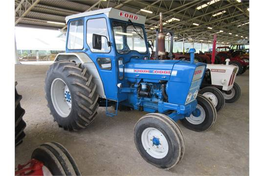 Ford 4000 Diesel Tractor : Ford cylinder diesel tractor reg no b