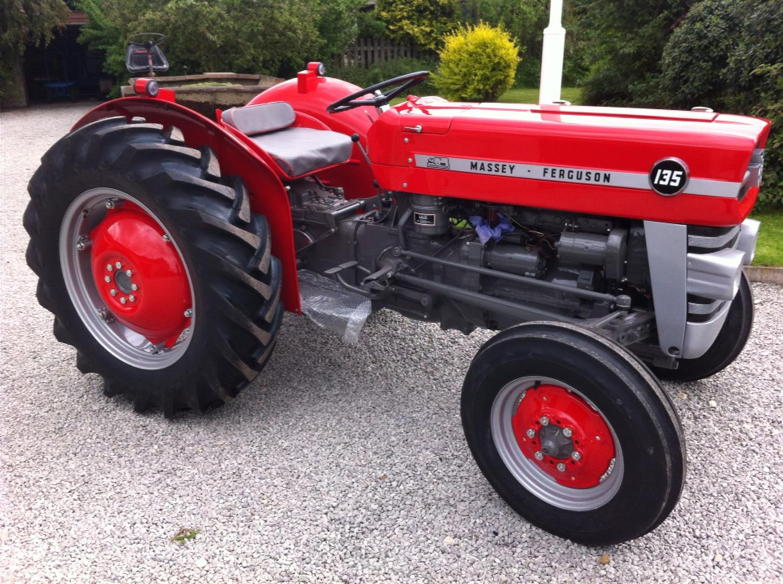 1966 Massey Ferguson Tractor : Massey ferguson cylinder diesel tractor reg no