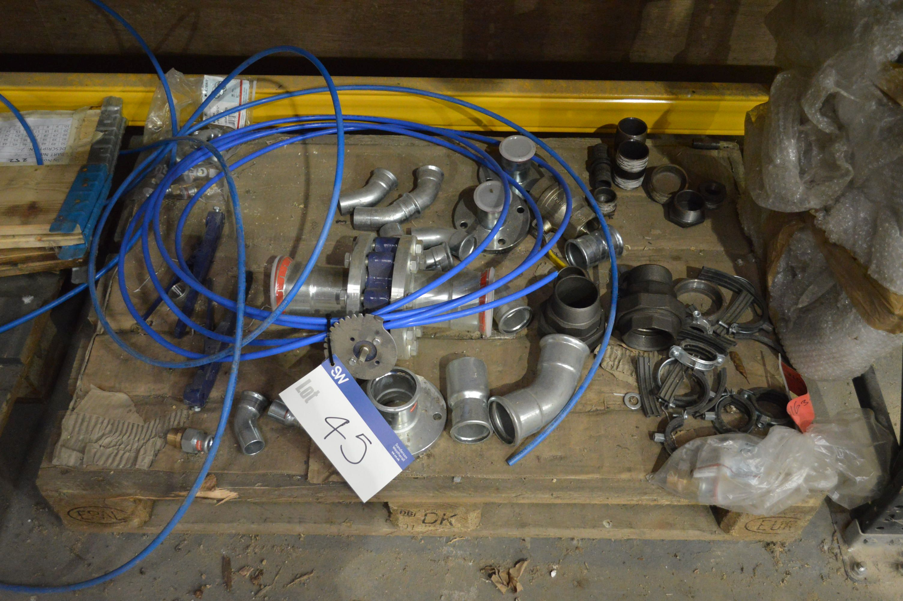Lot 45 - Assorted Components, on pallet