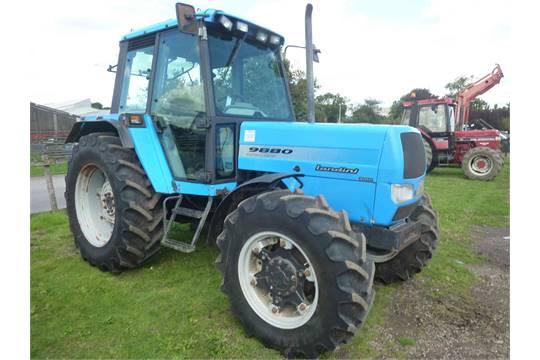 landini 9880 evolution 4wd tractor t878 lrp rh i bidder com