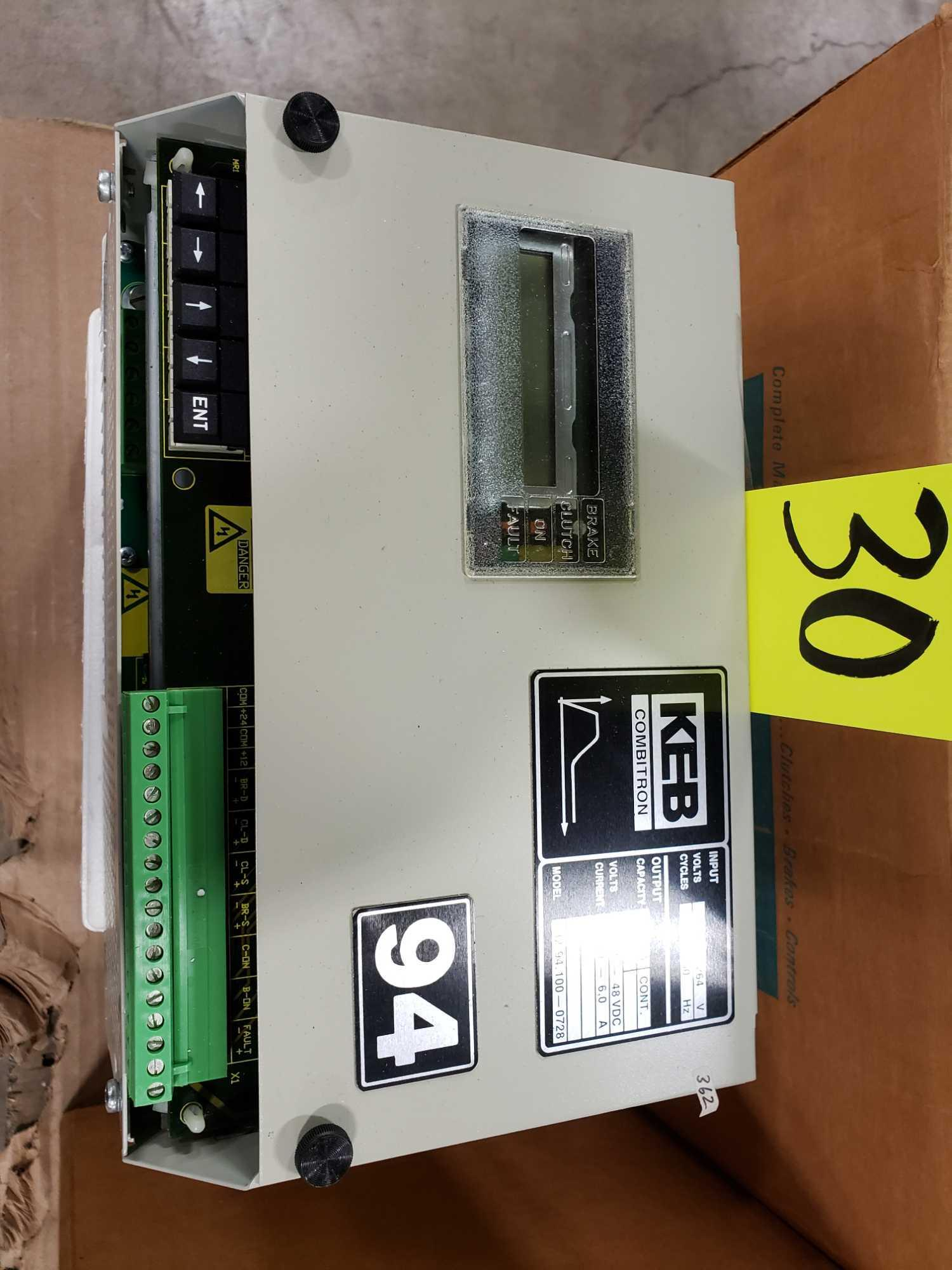 KEB Combitron drive model 32.94.100-0728, 90-264v input, 12-48vdc volt output. New as pictured. - Image 3 of 3