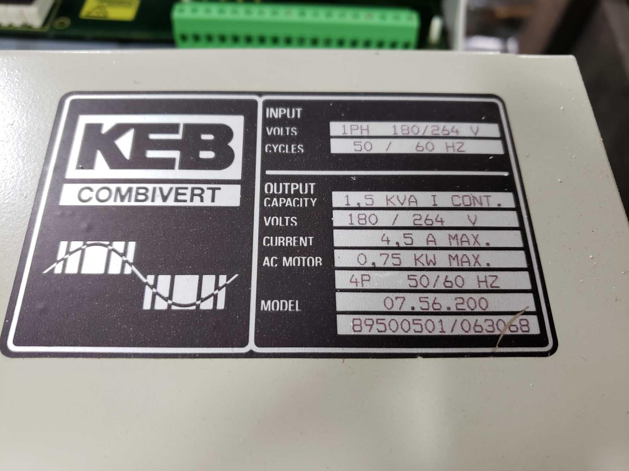 KEB Combivert drive. 180-264v input, 180-264v AC output. New in box. - Image 2 of 3