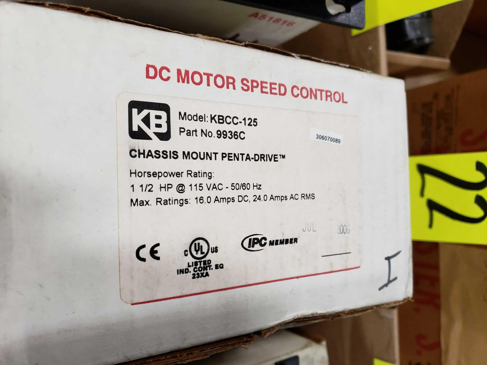KB Penta Power reversing controld drive. Model KBCC-125, part 9936ED. New in box. - Image 2 of 2