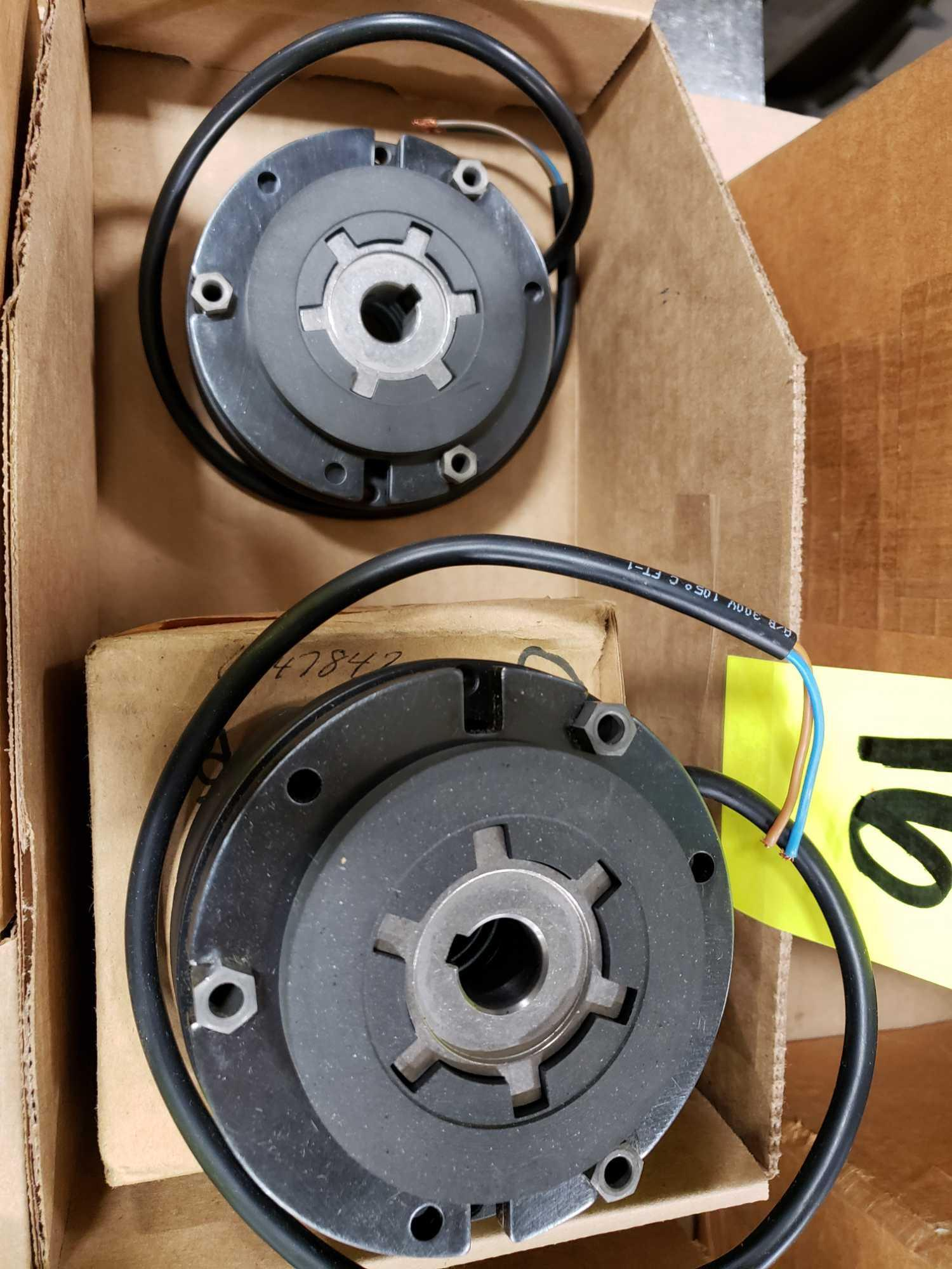 Qty 2 - Clutch brakes as pictured. New. - Image 3 of 3