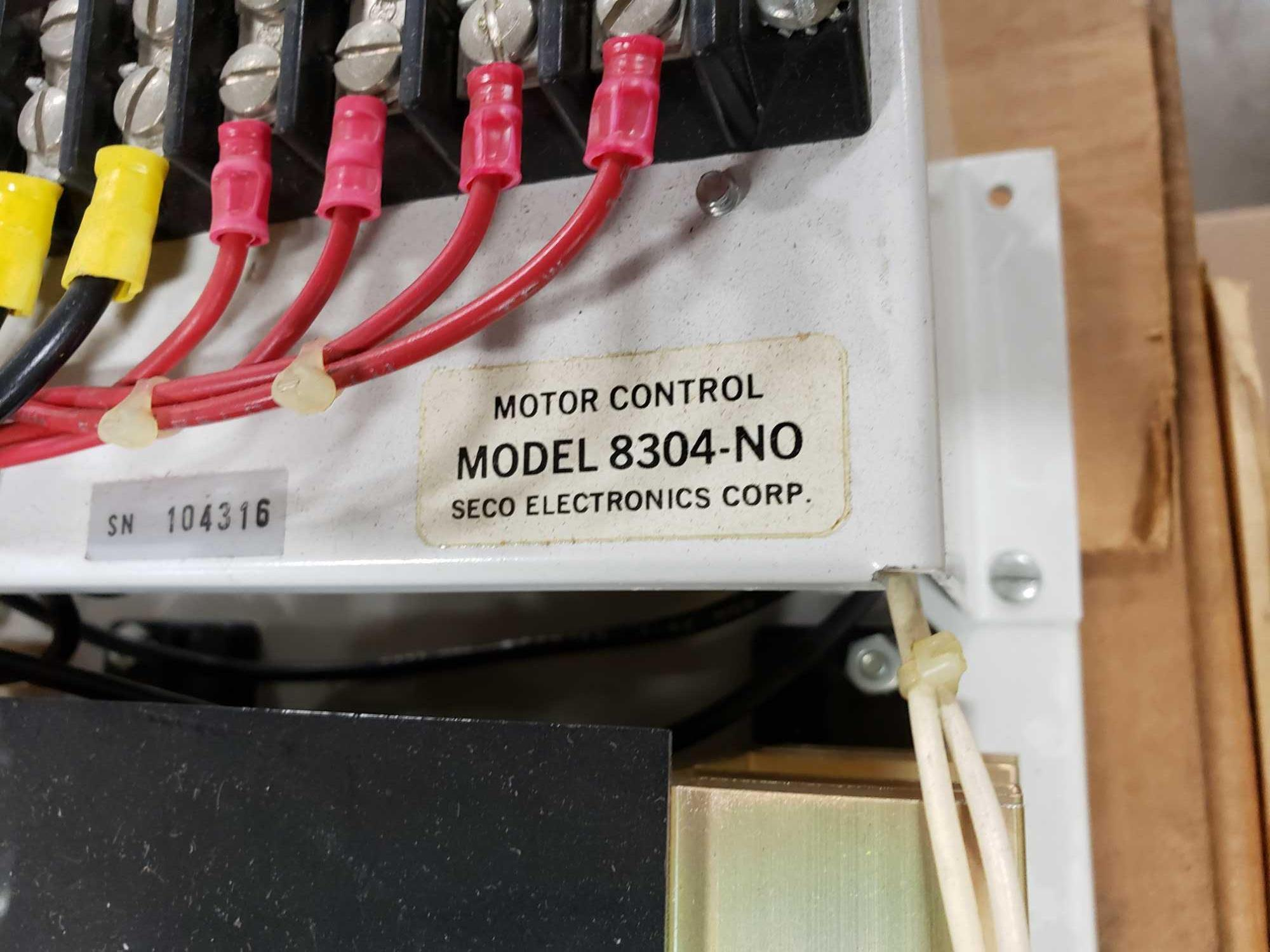 Seco Electronics model 8300 SCR motor control part 8304-N0.. New in box. - Image 2 of 3