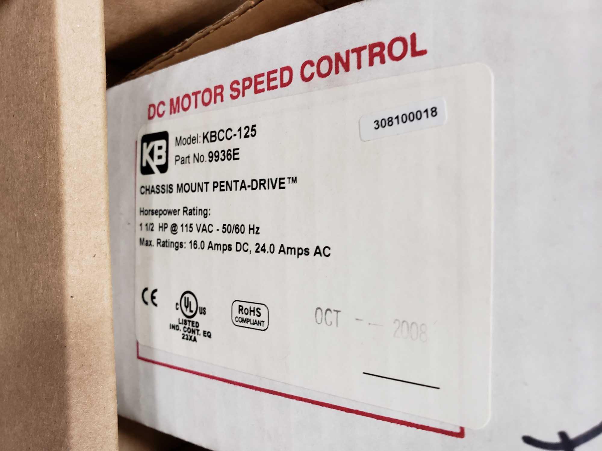 KB Penta Power reversing controld drive. Model KBCC-125, part 9936ED. New in box. - Image 2 of 4