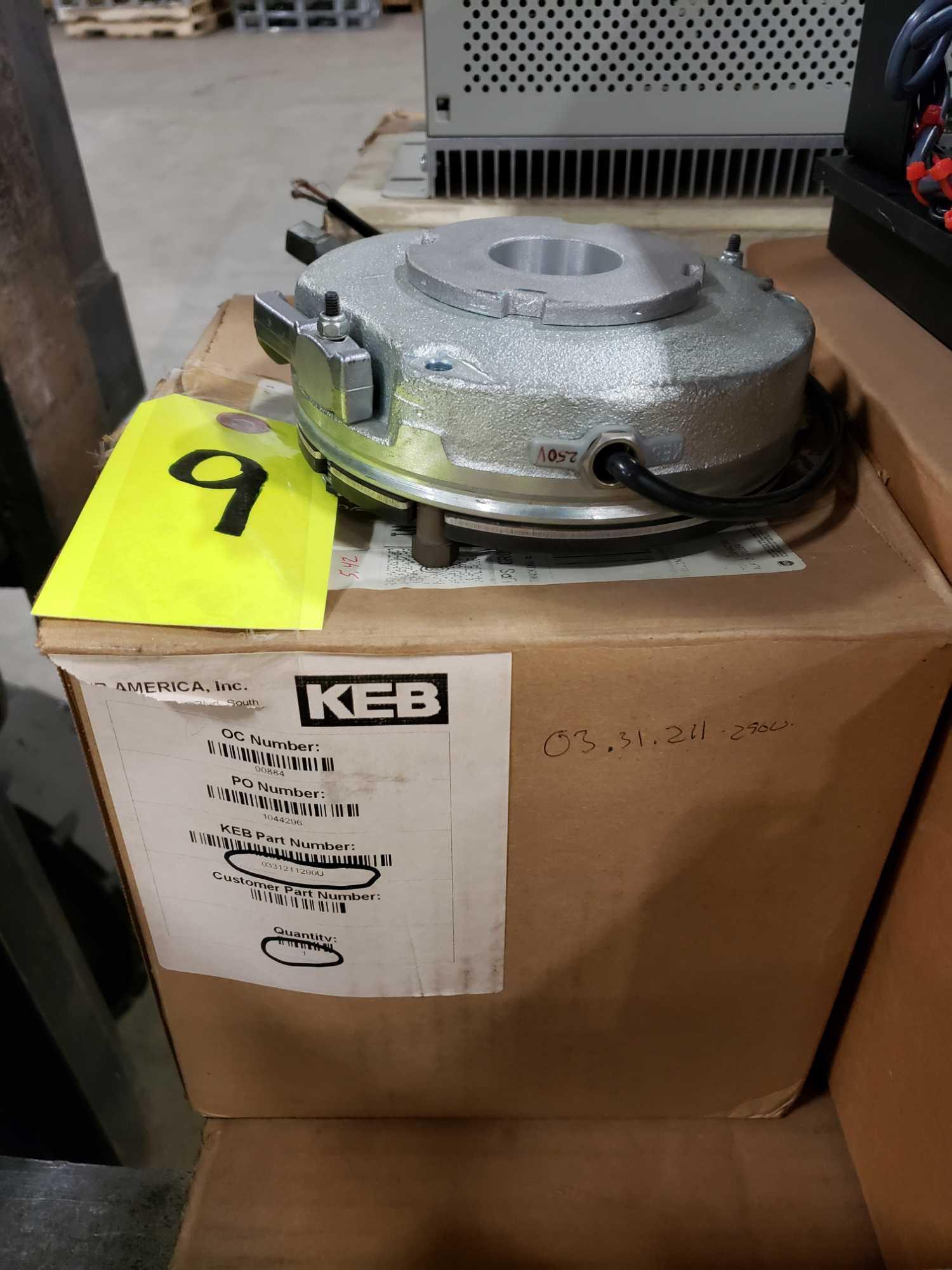 KEB brake model 0331211290U. New in box.