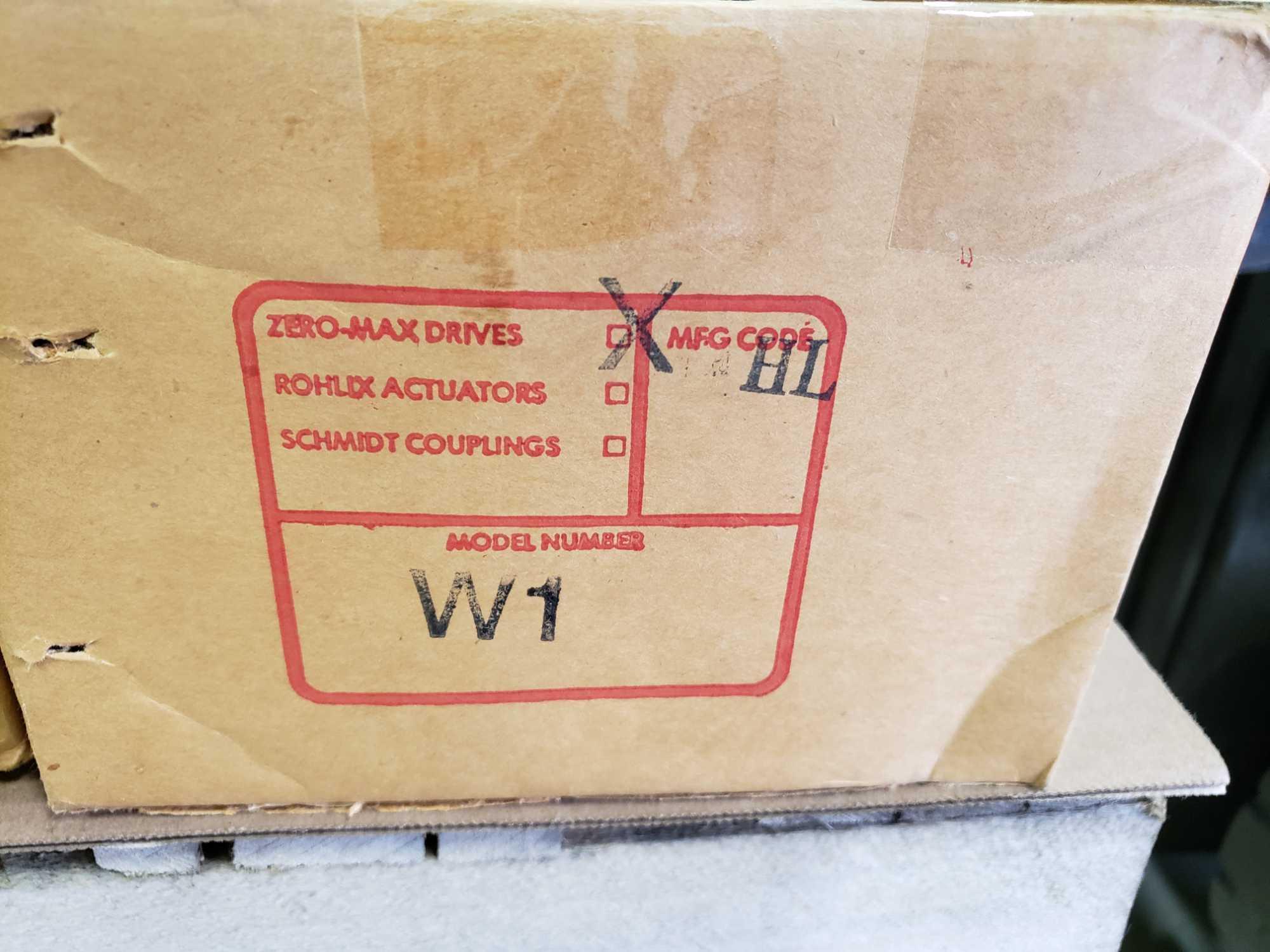 Zero-max gearhead power block model W1 speed range 0-100, gear ratio 4:1. New in box. - Image 3 of 3