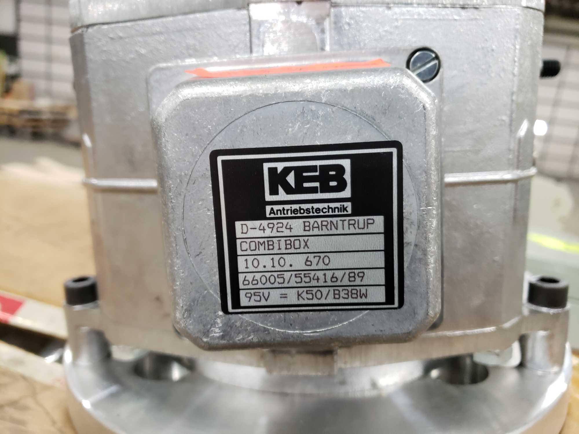 KEB Combibox model 10.10.670, 95vdc, input 215tc, output 215tc. New in box. - Image 2 of 4