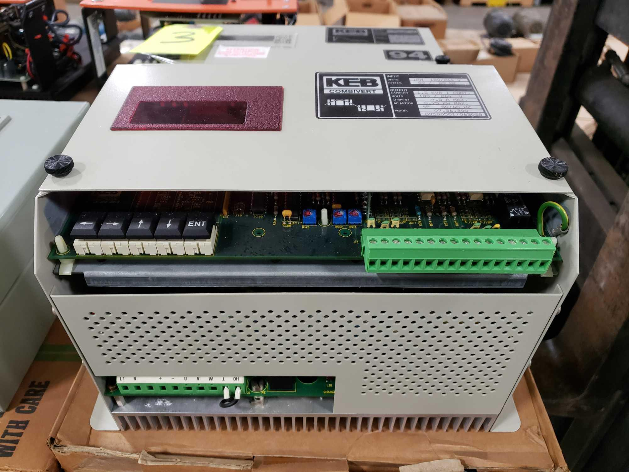 KEB Combivert drive. 180-264v input, 180-264v AC output. New in box. - Image 3 of 3