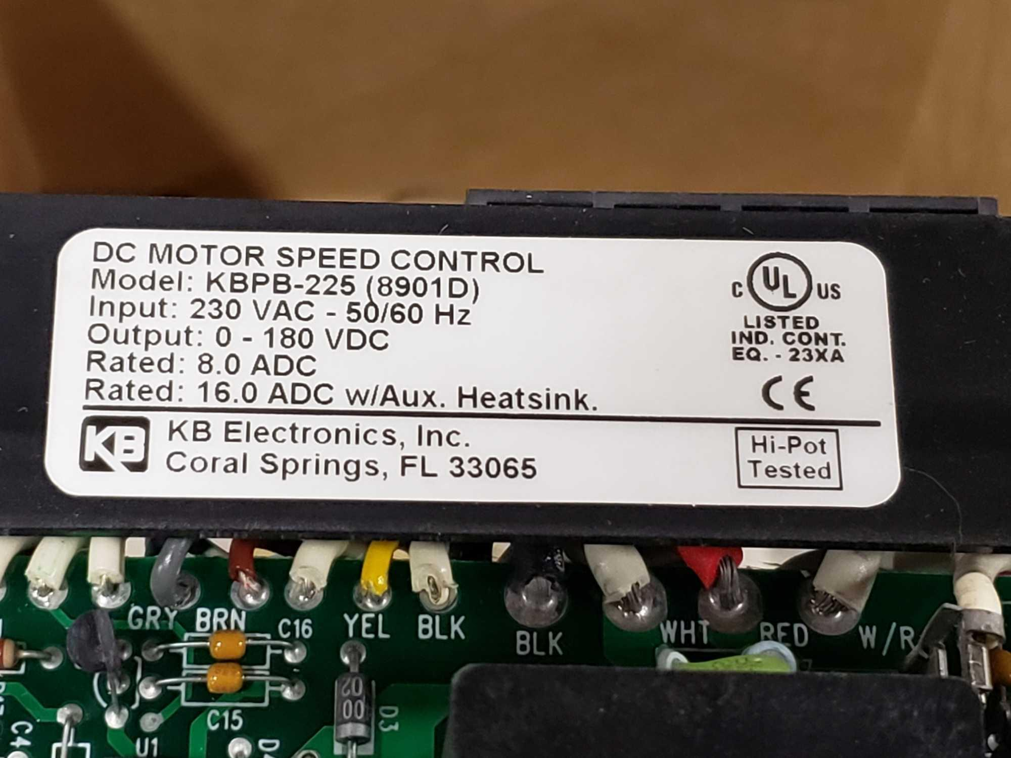 KB Penta Power reversing controld drive. Model KBPB-225, part 8901D. New in box. - Image 2 of 3