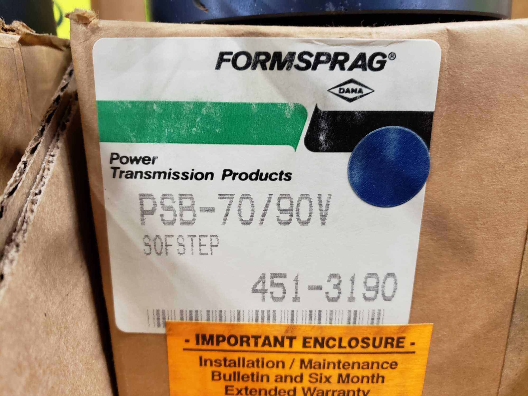 Formsprag Magpowr sofstep model PSB-70/90V magnetic partical clutch brake. New in box. - Image 4 of 4