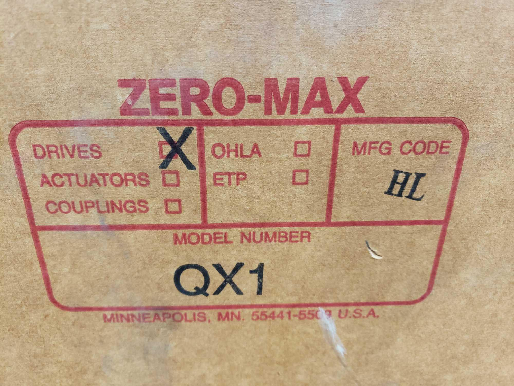 Zero-max drive power block model QX1 CCW output rotation, 100lb torque, 0-400 speed range. New. - Image 3 of 3